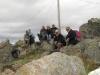 Gipfelkreuz erreicht und einfach mal die Aussicht genießen