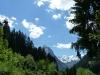 Blick auf die Tiroler Alpen