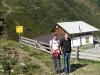 Blick auf die Wenneralm, liegt auf dem Weg zum Walder Gipfelkreuz