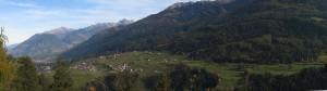 """letzter Almabtrieb Ellbögen in Tirol Ferienhotel Bergland im """"Oktober"""""""