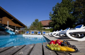 Schwimmbad Ferienhotel Bergland