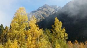 Herbst im Pitztal Tirol